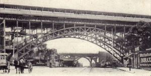 Early Elevated New York Subway